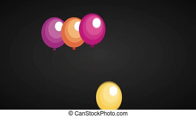 happy birthday design, Video Animation HD1080