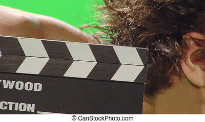 clown with clapboard 2