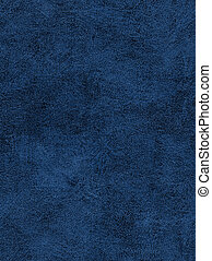 Leather texture - Close-up of blue leather-cloth for texture...