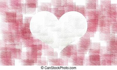Heart stylish animation