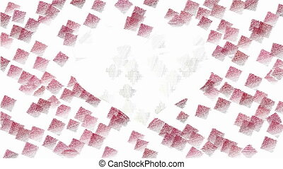 Valentines day animated background - Abstract animated...