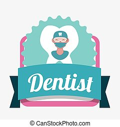 Dental icon design - dental concept with healthy lifestyle...