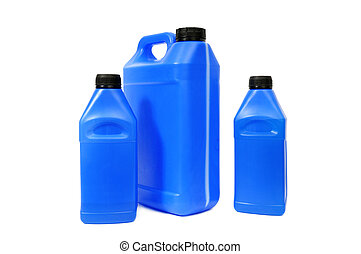 jerry can isolated on a white background...