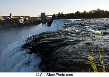 Niagara Falls - scenic Niagara Falls in New York usa