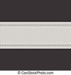 Abstract grey textile vector background