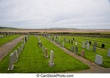 Islay cemetery - Cemetery on the Scottish Isle of Islay