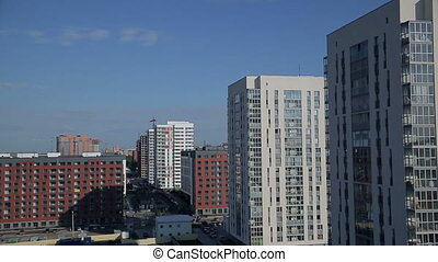 Several apartment buildings - District from apartment...