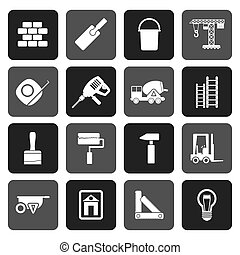 Flat Construction and Building icon