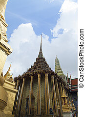 Beautiful Buddhist temple - The beautiful Buddhist temple is...