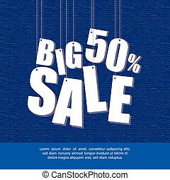Big Sale - abstract big sale background with some special...