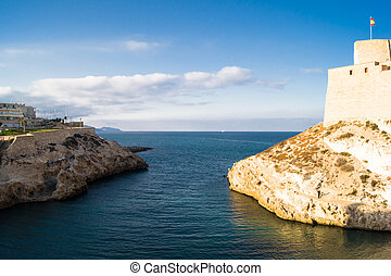 Melilla, Spain - fortress in Melilla, Spain