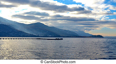 Lake Ohrid, macedonia - Picture of a Morning on a Lake...