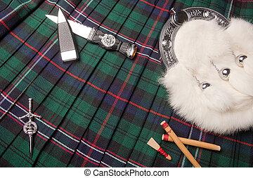 escocés, herencia