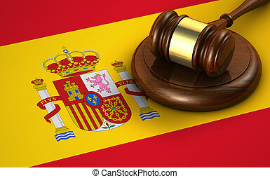 Spain Law And Legislation Concept - Law, legal system and...