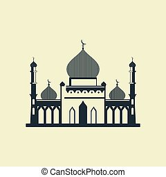 Mosque - Stylized mosque Vector illustration