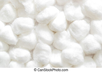 Cotton wool - fluffy wedding of a kind originally made from...