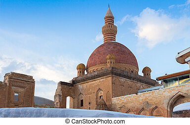 Ishak Pasha Palace Turkey - Ishak Pasha Palace and historic...