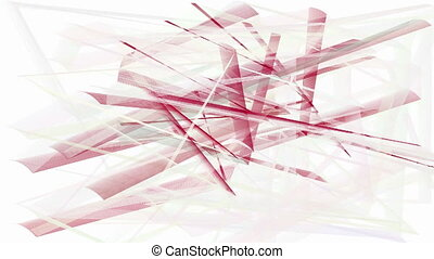 Abstract animated hatch background - Abstract animated red...