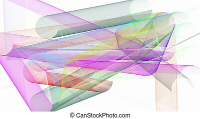 Abstract animated color background