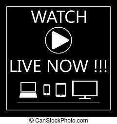 Watch live on all mobile devices - laptop, smart phone, tablet, TV.
