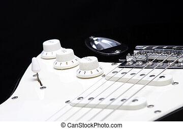 guitarra, Volumen