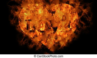 Heart of Fire - Love - Animation on the topic of...