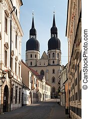 historic town Trnava, Beautiful city in Slovakia