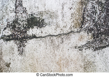 Dirty concrete wall