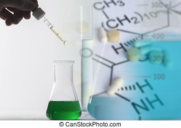 Manufacture of medical products, concept of chemistry