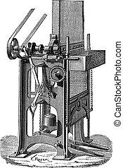 Ottmar Walch Press, vintage engraving
