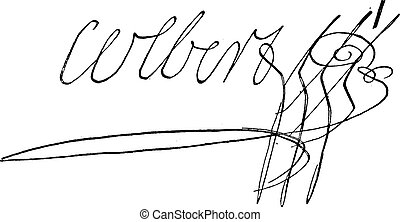 Signature of Marie-Anne Charlotte Corday dArmont or...