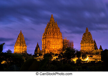 temple - ancient hindu temple in indonesia