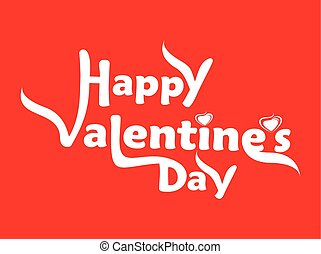 Valentines Day background with floral vector illustration