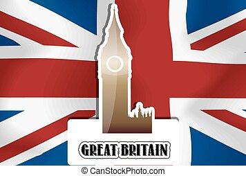 United Kingdom, Great Britain, illustration - United...