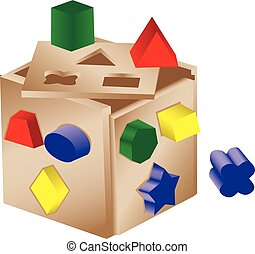 Shaped sorter toy
