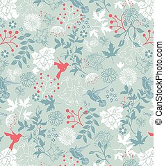 Vintage background with ornate elegant retro abstract floral...