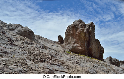 The Golem - It is a rock rising from mountain, as it was a...