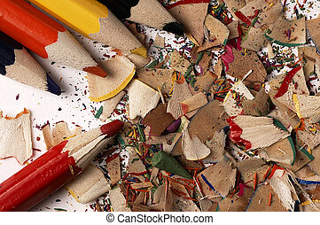 Colorful wooden pencils Different than other - Creative mess...
