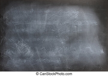 Chalkboard Erased Scribbles - Black chalkboard texture with...