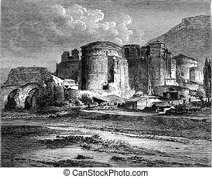 Pergamum, The old church of St John, which is supposed to...