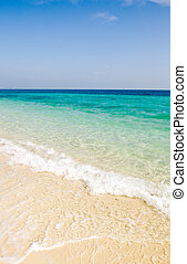ocean view - Beautiful ocean view of the sea with crystal...