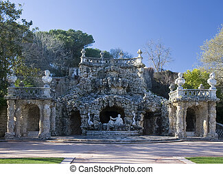 Poets grotto - In the gardens of the 18th century manor...