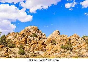 Rocks in Nevada, USA
