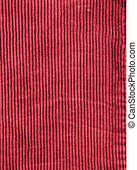 Ribbed Velveteen - Background texture approximation of...