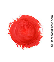 Stain From paint - stain from paint abstract background red...