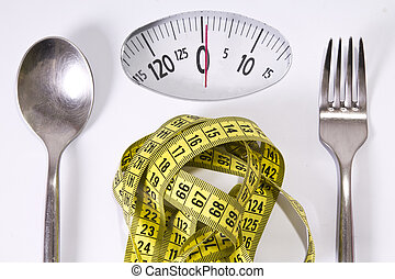 Slimming, y, peso, pérdida,