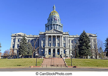 Colorado State Capitol in Denver - Colorado State Capitol...