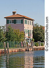 Old house in Torcello