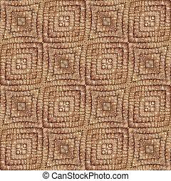 Doormat Seamless Texture - Sandy Brown Doormat Seamless...