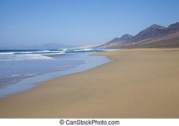 Fuerteventura, Canário, Ilhas, cofe,
